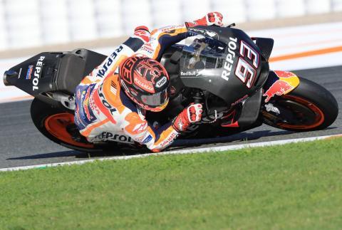 Valencia MotoGP test times - Wednesday (1pm)