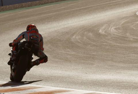 Jerez MotoGP test times - Wednesday (2:30pm)
