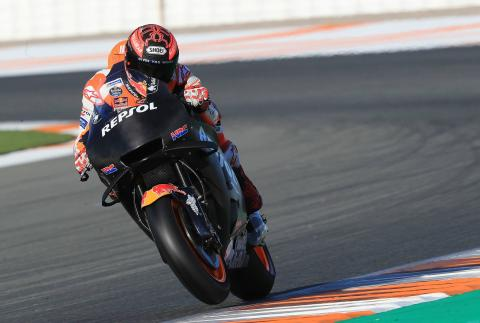 Marquez: If I crashed, the team would kill me!