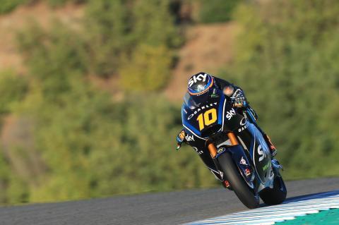 Jerez Moto2 test times - Wednesday (Session 2)