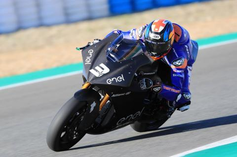 Jerez MotoE test times - Final