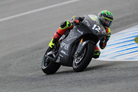 Jerez MotoE test times - Wednesday