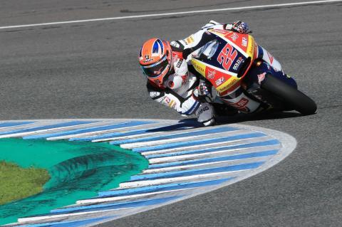 Moto2: Lowes makes fast start to Triumph era