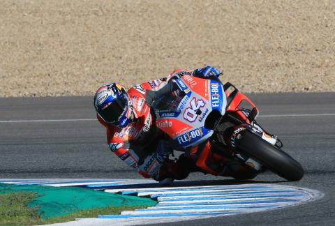 Jerez MotoGP test times - Thursday (3pm)