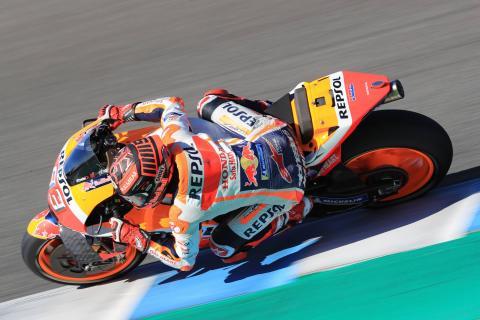Jerez MotoGP test times - Wednesday (3:30pm)