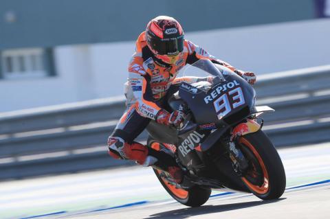 Jerez MotoGP test times - Thursday (2pm)