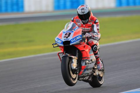 Petrucci fastest as build-up to big chance continues