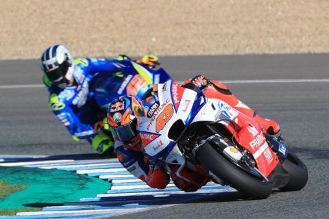 Jerez MotoGP test times - Thursday (4pm)