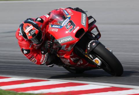 Petrucci: Dovi said 'it's the opposite, you have to wait'