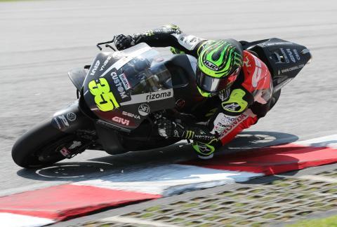 Qatar MotoGP test times - Saturday (5pm)