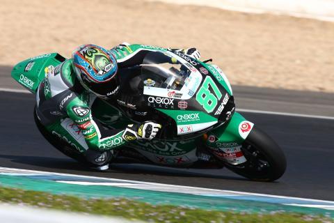 Jerez Moto2 test times - Thursday (Session 2)