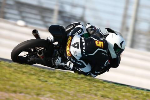 Jerez Moto3 test times - Thursday (Session 1)