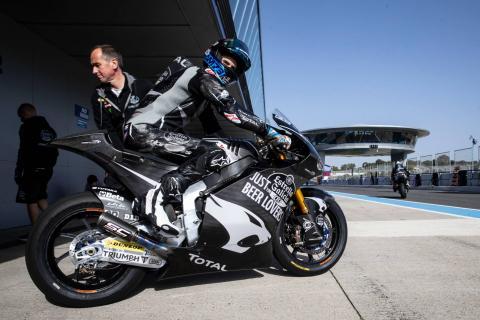 Jerez Moto2 test times - Thursday (FINAL)