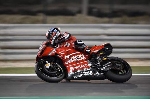 Qatar MotoGP test times - Sunday (5pm)