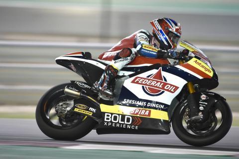 Qatar Moto2 test times - Saturday (Session 2)