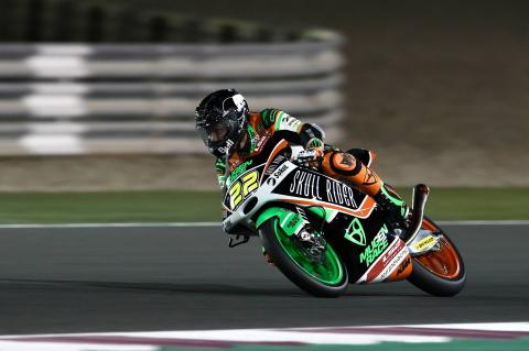 Qatar Moto3 test times - Sunday (Session 1)