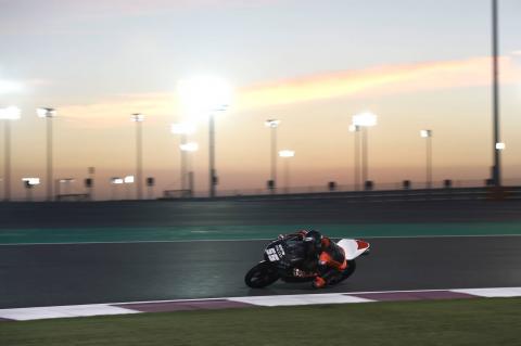 Qatar Moto3 test times - Combined
