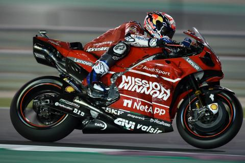 Dovizioso sees off Marquez in final-lap thriller