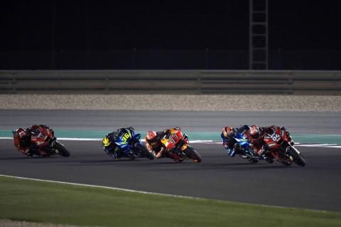 Mir 'learns from the greats' on MotoGP debut