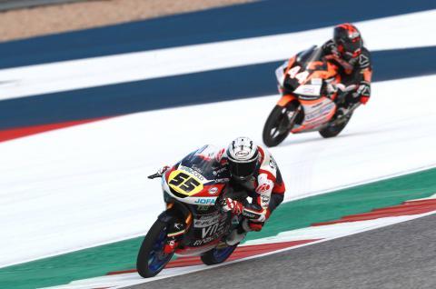 Moto3 Austin - Warm-up Results
