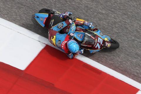 Moto2 Austin, COTA - Warm-up Results
