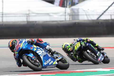 Rins: Pressure from Rossi made first MotoGP win incredibly emotional