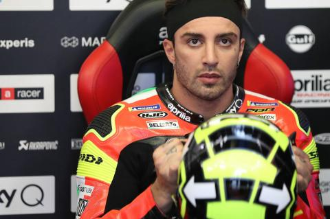 Iannone: The pain was too much