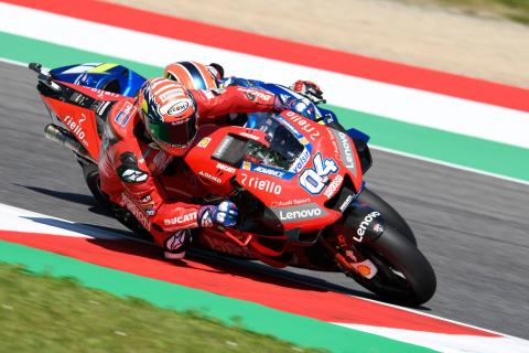 Dovizioso 'not happy, can't ride how I want'