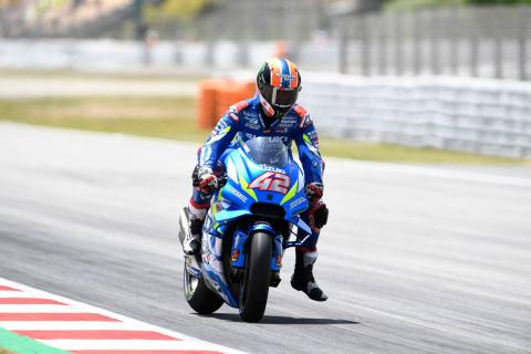 Catalunya MotoGP test times - Monday (11am)