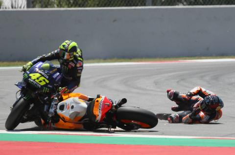 Rossi: Great shame, ankle pain, it happens