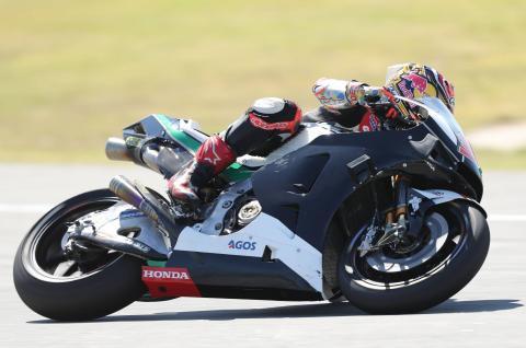 Nakagami enjoys 2019 Honda debut