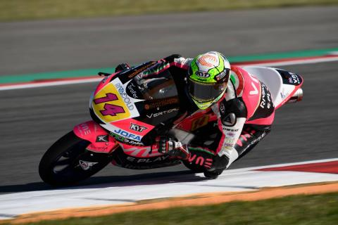 Moto3 Assen: Arbolino holds off Dalla Porta for victory