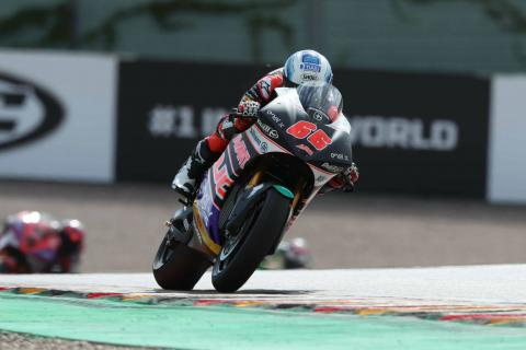 Tuuli wins historic first MotoE race after red flag