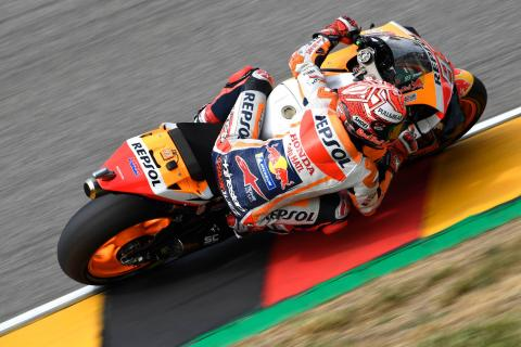 Marquez completes perfect 10 as Quartararo, Rins crash out