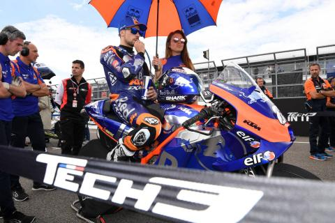 Oliveira, Tech3 'sad' as best of season slips away