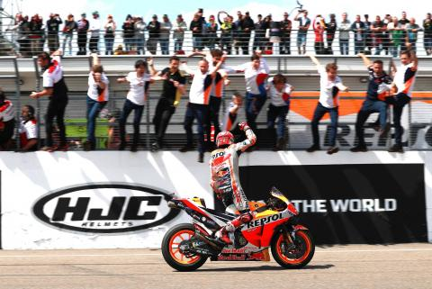 Marquez 'in a different position' heading to unbeaten MotoGP track