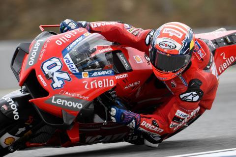 Czech Republic MotoGP - Warm-up Results