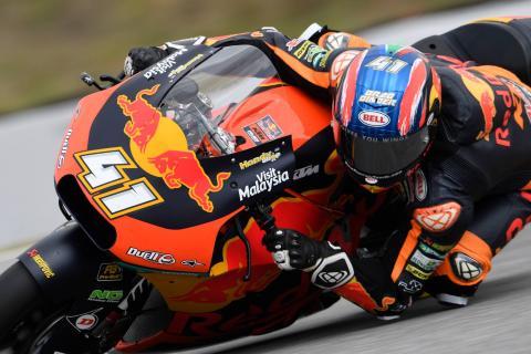 Moto2 Austria - Free Practice (2) Results