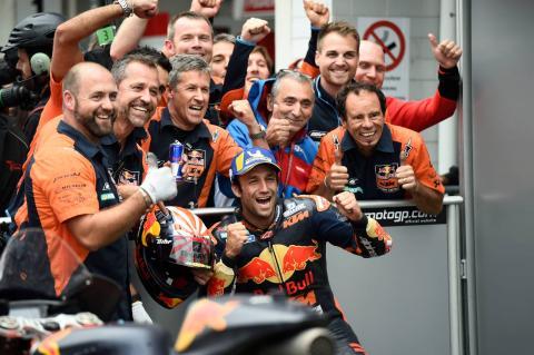 Zarco bucks his 2019 trend to surprise KTM with maiden front row start
