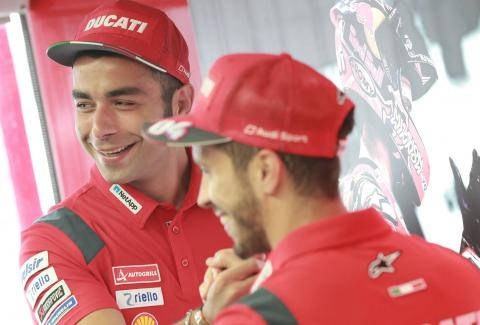Dovizioso, Petrucci chasing 'best of the rest'