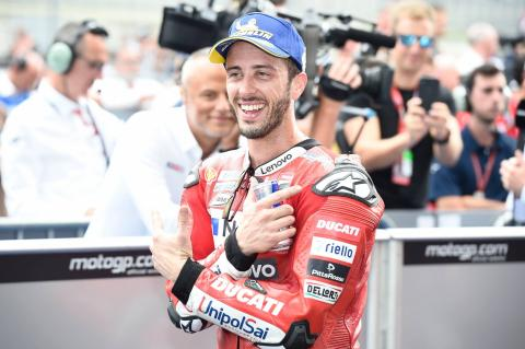 Dovizioso gets timely boost ahead of Silverstone