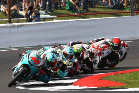 Moto3 Silverstone: Ramirez battles through the pack for victory