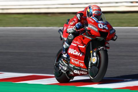Dovizioso 'stays calm' to 'recover big gap'