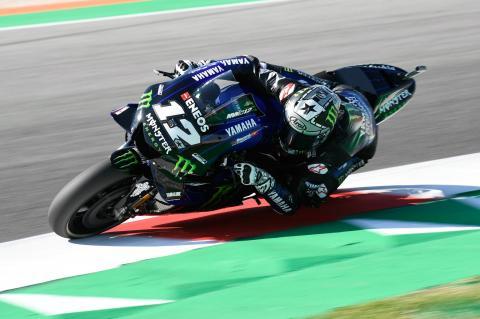 Vinales beats KTM's Espargaro to Misano pole