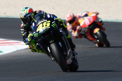 Rossi, Marquez summoned to MotoGP Stewards for Q2 incident