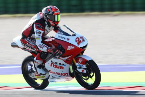 Moto3 Misano - Warm-up Results