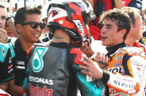 Marquez: Quartararo best rider today, 2020 title contender