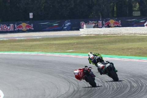 Dovizioso: We suffered, pity to miss Rossi, Morbidelli battle