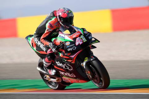 Aleix explains Aprilia speed, 'strange' Marquez braking