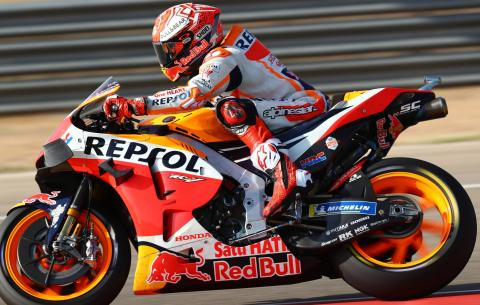 'Great feeling' means Plan A for Marquez